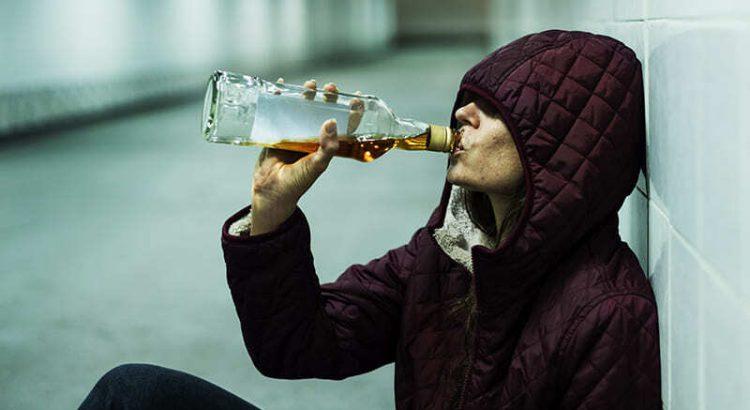 Bezdomny alkoholik